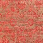 Clay Velvet Red Knotted Rug