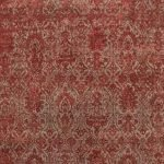 Dark Taupe Ruby Red