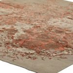 Hand Knotted Silk Rug-1